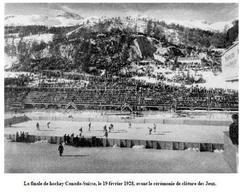 Final of the Men's Ice Hockey at the 1928 San Moritz Winter Games