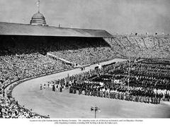 The Opening Ceremony of the 1948 Games