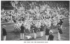 The start of the 1912 Marathon