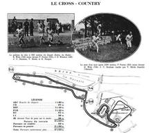The Cross Country race, 1924 Paris Games