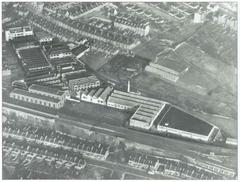Aerial view of the Century Works
