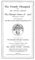 1908 Olympiad official report
