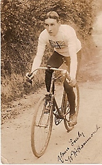 Photo of William R. Hammond. Part of the Catford Cycling Club archives held by Lewisham Local History and Archives Centre.